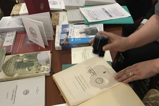 """The """"Maurizio Tosi"""" Library in Samarkand (Uzbekistan): now available the online catalogue"""