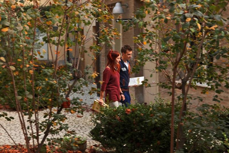 Il cortile di Casa Traversari (UOS di Ravenna)