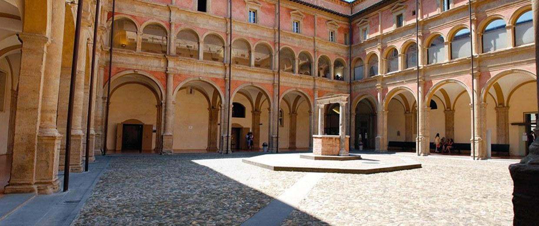 Complesso di San Giovanni in Monte, Chiostro grande