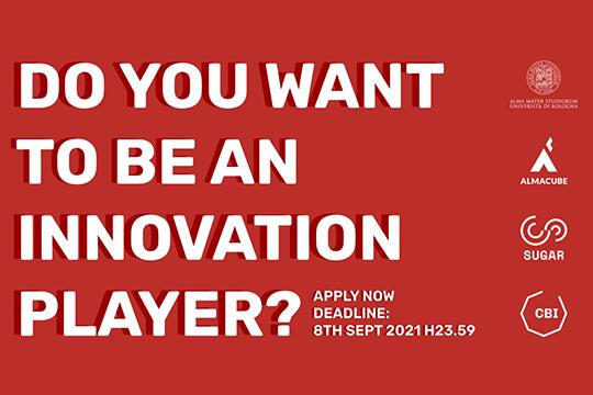 Bando per i programmi di open innovation CBI e SUGAR