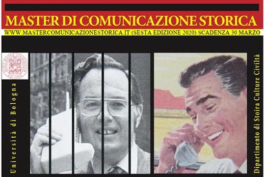 Master di Comunicazione Storica - Bando 2020: scadenza 30 marzo