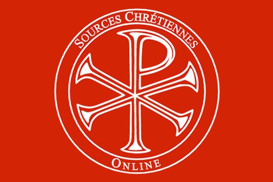 Sources Chrétiennes Online (SCO) - attivazione