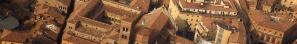 Particolare della veduta aerea del complesso