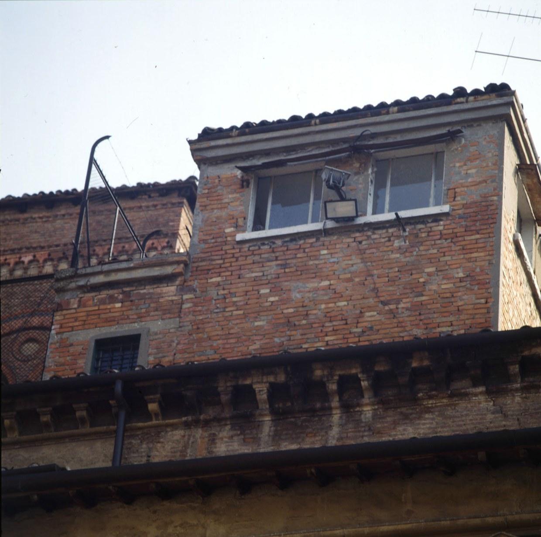Fotografia di una torretta di guardia